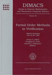 Cover of: Partial order methods in verification
