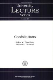 Cover of: Confoliations