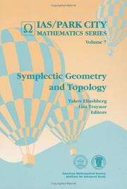 Cover of: Symplectic geometry and topology