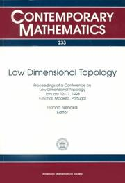 Cover of: Low dimensional topology | Conference on Low Dimensional Topology (1998 SaМѓo JoaМѓo da Madeira, Portugal)