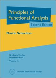 Cover of: Principles of functional analysis
