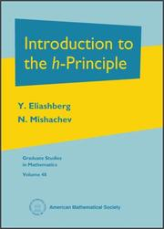 Cover of: Introduction to the h-principle