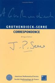 Cover of: Grothendieck-Serre correspondence