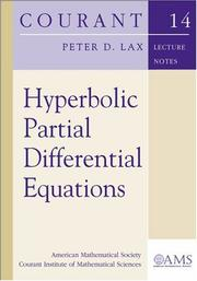 Cover of: Hyperbolic partial differential equations