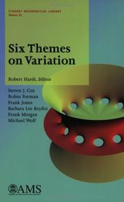 Cover of: Six Themes On Variation (Student Mathematical Library, V. 26)