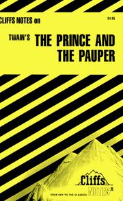 Cover of: The prince and the pauper | Louis David Allen