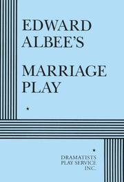 Cover of: Edward Albee's Marriage play