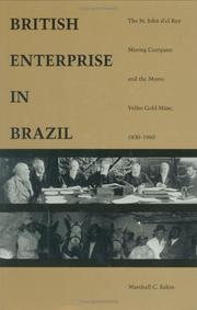 Cover of: British enterprise in Brazil