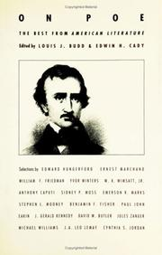 Cover of: On Poe