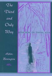 Cover of: The third and only way