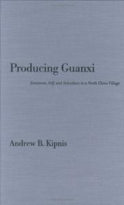 Cover of: Producing Guanxi