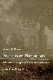 Cover of: Peasants on Plantations | Vincent Peloso