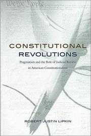 Cover of: Constitutional revolutions