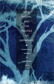Cover of: Race, Nature, and the Politics of Difference |
