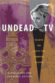 Cover of: Undead TV |