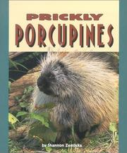 Cover of: Prickly Porcupines