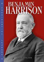 Cover of: Benjamin Harrison
