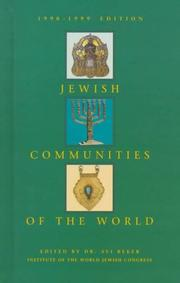 Cover of: Jewish communities of the world
