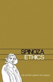 Cover of: Ethics