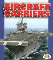 Cover of: Aircraft Carriers (Pull Ahead Books) | Matt Doeden