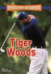 Cover of: Tiger Woods | Matt Doeden