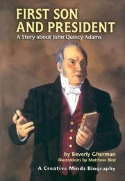 Cover of: First Son And President | Beverly Gherman
