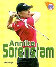 Cover of: Annika Sorenstam (Amazing Athletes)