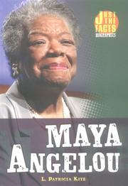 Cover of: Maya Angelou | L. Patricia Kite