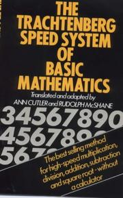 Cover of: Speed System of Basic Mathematics