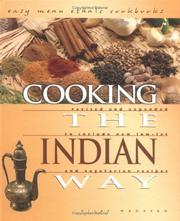 Cover of: Cooking the Indian Way | Vijay Madavan