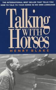 Cover of: Talking with Horses | Henry Blake