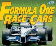 Cover of: Formula one race cars | Janet Piehl