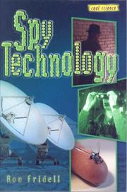 Cover of: Spy technology | Ron Fridell