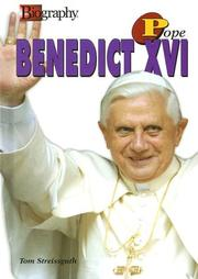 Cover of: Pope Benedict XVI (Biography (A & E))