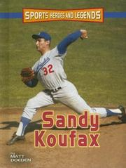 Cover of: Sandy Koufax | Matt Doeden