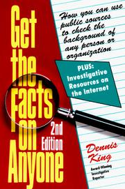 Cover of: Get the facts on anyone