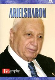 Cover of: Ariel Sharon (Biography)
