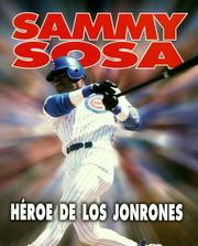 Cover of: Sammy Sosa, home run hero