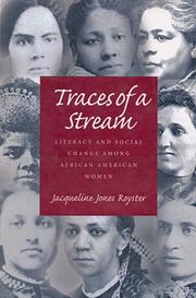 Cover of: Traces of a stream