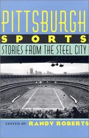 Cover of: Pittsburgh Sports
