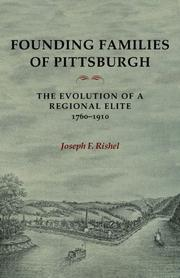 Cover of: Founding Families Of Pittsburgh | Joseph F Rishel