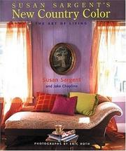 Cover of: Susan Sargents New Country Color | Susan Sargent