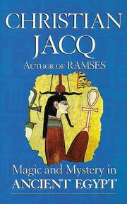 Cover of: Magic and Mystery in Ancient Egypt