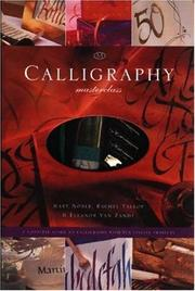 Cover of: Calligraphy Masterclass | Mary Noble