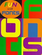 Cover of: Fun With Fonts | David E. Carter