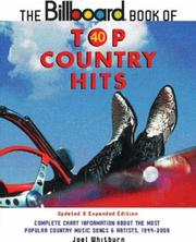 Cover of: The Billboard Book of Top 40 Country Hits