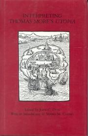 Cover of: Interpreting Thomas More