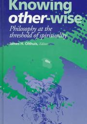Cover of: Knowing other-wise |