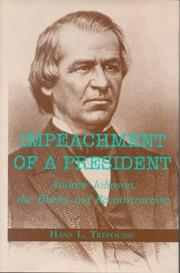 Cover of: Impeachment of a president | Hans Louis Trefousse
