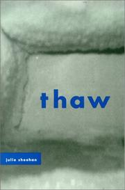 Cover of: Thaw | Julie Sheehan